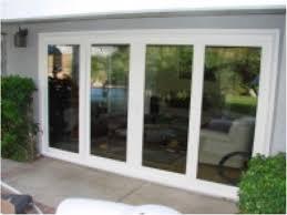 elegant double sliding patio doors and 4 panel