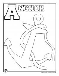 In the next part, the preschoolers learns to write the letter by the trace, and then writes it by himself. Alphabet Coloring Pages Set A Z Woo Jr Kids Activities