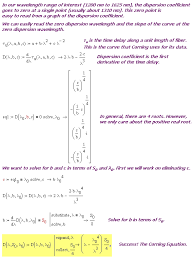 wavelength formula with length. figure 4: detailed derivation of corning equation. wavelength formula with length t