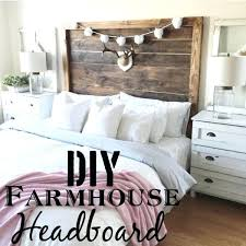 diy king size headboards check out this tutorial on how to make a king farmhouse headboard
