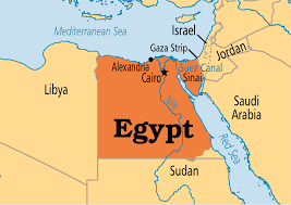 egypt operation world Map Of The World Egypt click map to enlarge map of the world with egypt located