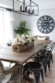 DIY Faux Floral Arrangement: Feminine Yet Rustic Crate. Farmhouse Dining  Room ...