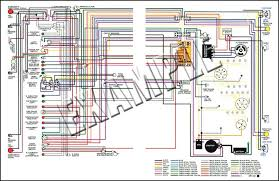 nova parts 14363 1963 nova full color wiring diagram 8 1 2 x wiring diagrams