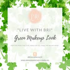 st patrick s day is this weekend and it is the perfect excuse to play with color for your makeup i would definitely wear this makeup look for a night out