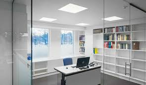 office lighting. quality lighting to keep a workplace safe office e