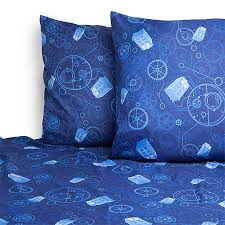 full sheet exclusive doctor who bed sheets thinkgeek