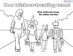 Halloween Safety Handouts Lovetoknow