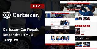 auto parts website template car wash templates from themeforest