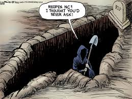 the grim reaper shows up often in