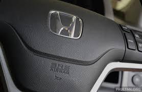 Honda Malaysia Recalls 87 182 Vehicles Over Takata Airbag Issue