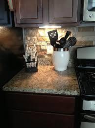stone kitchen backsplash dark cabinets. Fine Dark Stone Kitchen Backsplash Dark Cabinets Inside Freerollokinfo