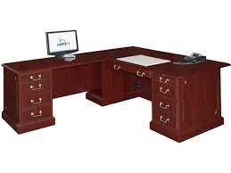 shaped office desk. Bedford L-Shaped Office Desk- L Return Large Shaped Desk O