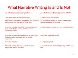 grade writing workshop what narrative