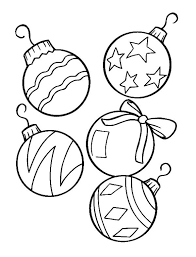 Small Picture Christmas Ornament Coloring Pages Christmas Ornament Merry