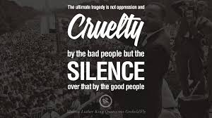 Image Result For Mlk Silence Quote Quotes Equality Quotes