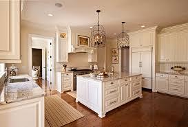 Light Granite Countertops Kitchen Traditional With Area Rug Broken U