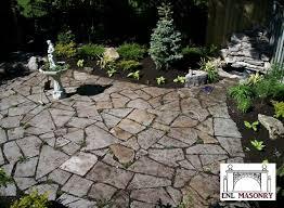 loose flagstone patio. Stonework Loose Flagstone Patio N