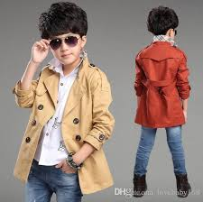 elegant new design long pattern casual boys belted trench coat child 10 years autumn spring boys jacket outerwear black hooded trench coat trench coats
