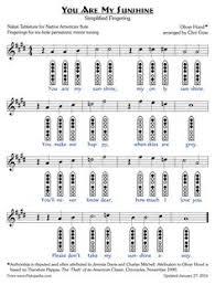 7 Hole Flute Finger Chart Flute Fingering Chart