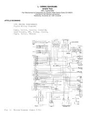 84 Toyota Wiring Diagram | Wiring Library