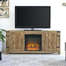 glass ember fireplace tv stand fireplace screens