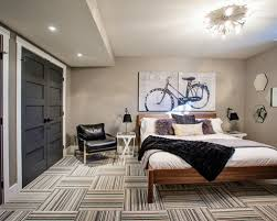 best paint for basement wallsStylish Grey And White Wall To Be Basement Guest Room Part of