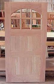 unfinished front doorDoors by Decora  Craftsman Collection  DbyD4012
