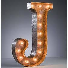 24 marquee letter lights 24 letter j lighted vintage marquee letters rustic 3 v=