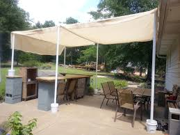 Made this canopy to cover the bar/seating area this weekend (July 2014)