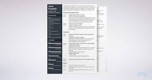 Mid Century Modern Resume Template Academic Cv Example Template Writing Guide With 20 Expert Tips