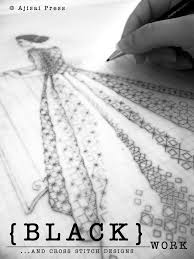 Free Blackwork Embroidery Charts Cross Stitch And Blackwork Designs Ajisai Press