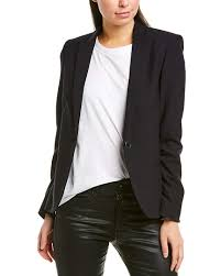 Zadig And Voltaire Size Chart Amazon Com Zadig Voltaire Womens Vedy Skull Blazer 40