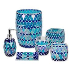 blue glass bathroom accessories. Blue Glass Bathroom Accessories Thedancingparent Com O