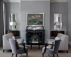 Gray Living Room Cool Inspiration Design