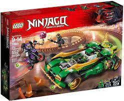 Đồ Chơi LEGO Ninjago 70641 - Xe Đua Bóng Đêm của Ninja (LEGO Ninjago 70641  Ninja Nightcrawler)