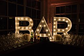 Marquee Sign With Lights Bar Marquee Sign Diy Www Lifestyleeventgroup Com Diy