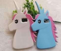samsung galaxy s6 3d phone cases. samsung galaxy s6 edge plus cartoon cases fashion 3d lovely unicorn soft silicon rubber case 3d phone o