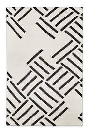 unbelievable black and white modern rug add sophistication interest with b u r k e d c o hatch in contrast design by