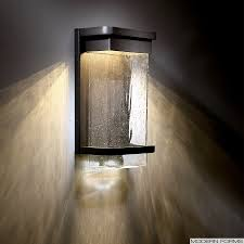 Forms WSW Vitrine Large LED Outdoor Sconce - Exterior sconce lighting