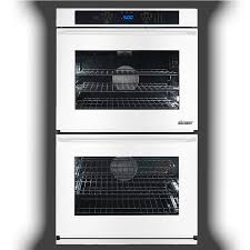 dacor renaissance self cleaning convection double electric wall oven white common