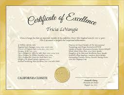 Certificate Of Excellence Template Word Certificate of Excellence Template Sample Example Format 27