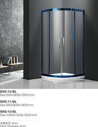 wet room modern sliding frosted glass bathroom door shower enclosure bearing wheels