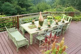 furniture restoration diy deck rustic with wood railing outdoor dining wood railing