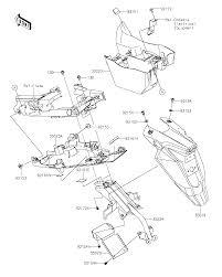 2016 kawasaki ninja 650 abs rear fender s parts best oem schematic search results 0 parts in 0 schematics