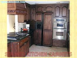 refinishing oak kitchen cabinets graceful chic and updating before after