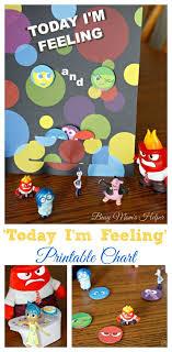 Inside Out Feelings Chart Printable Inside Out Emotion Chart Bedowntowndaytona Com