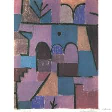 2018 oriental garden by paul klee oil painting abstract art high quality hand painted from kixhome 85 43 dhgate com