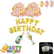 46-Pcs <b>Gold</b> Collection Balloon Set (Rose <b>Gold</b> Champagne <b>Gold</b> ...