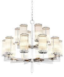 Casa Padrino Luxus Kronleuchter Silber 755 X H 73 Cm