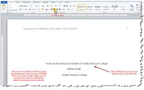 Microsoft Word Apa Header Apa Running Header Ms Word 2010 Apa Style Guide
